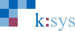 Logo von k:sys Systemtechnik für Krankenhäuser und Sonderbauten GmbH & Co. KG